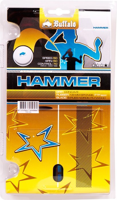 Pingpongová raketa Buffalo Hammer 3*