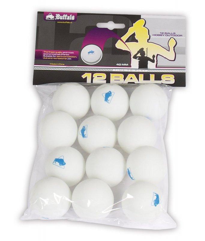 Loptičky Buffalo Outdoor na stolný tenis 12ks