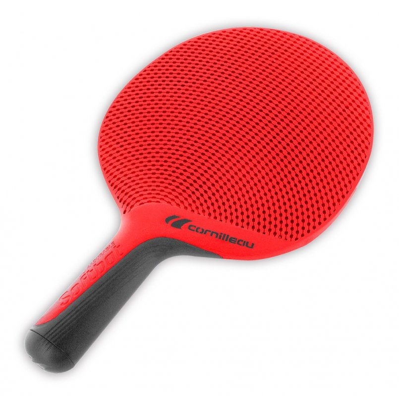 Raketa na pingpong Cornilleau Softbat outdoor red