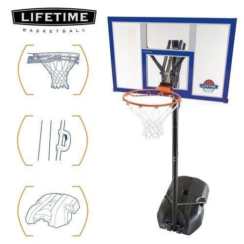Basketbalový kôš Lifetime Power Dunk New York 90000 Akcia