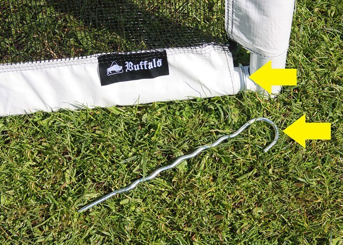 Futbalová bránka Buffalo World Cup 225x175x80cm