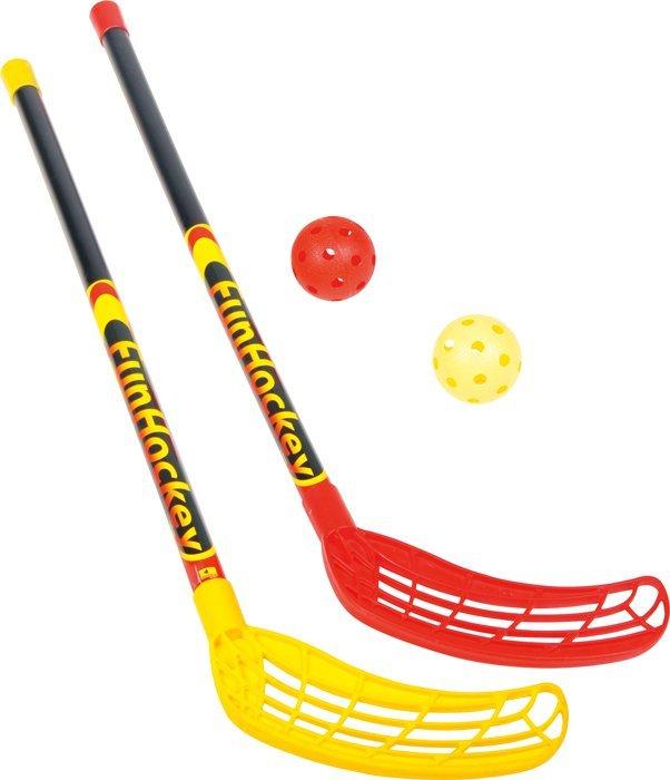 Sada Fun Hokej 2x hokejka a 2x loptička