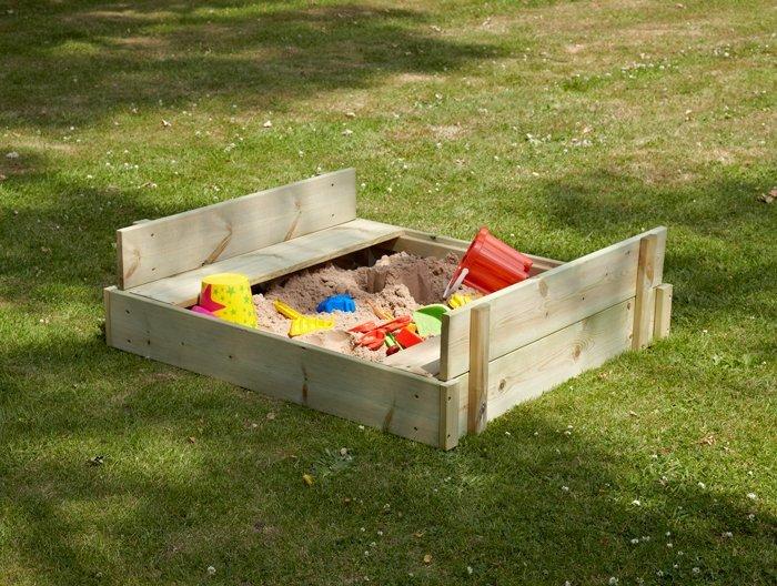 Drevené pieskovisko TP Toys Play