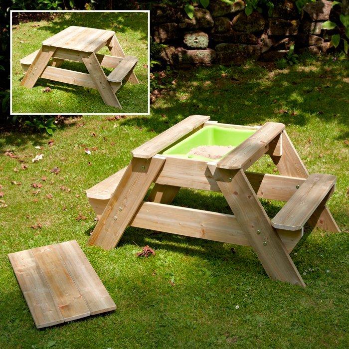 Detský piknikový a hrací stolík TP Picnic Sand