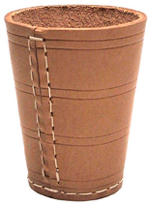 Kožený pohár na kocky Dice Cup 10cm / 8cm priemer