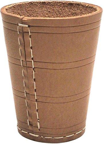 Kožený pohár na kocky Poker Cup 9cm