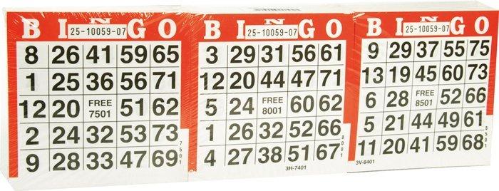 Kartičky na Bingo 1500ks