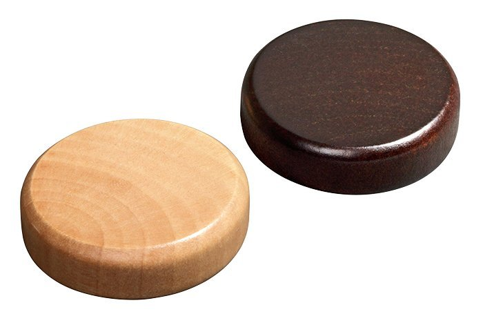 Philos Backgammon kamene malé 25 x 8 mm sada 30ks