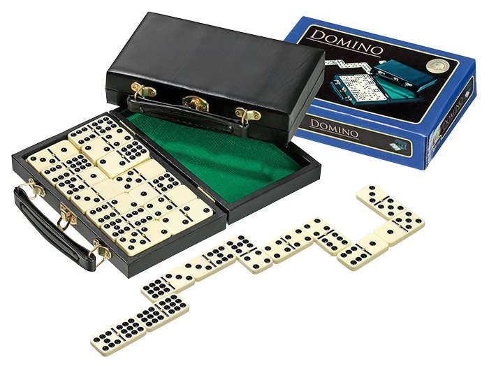 Domino Philos double 9 v kufríku