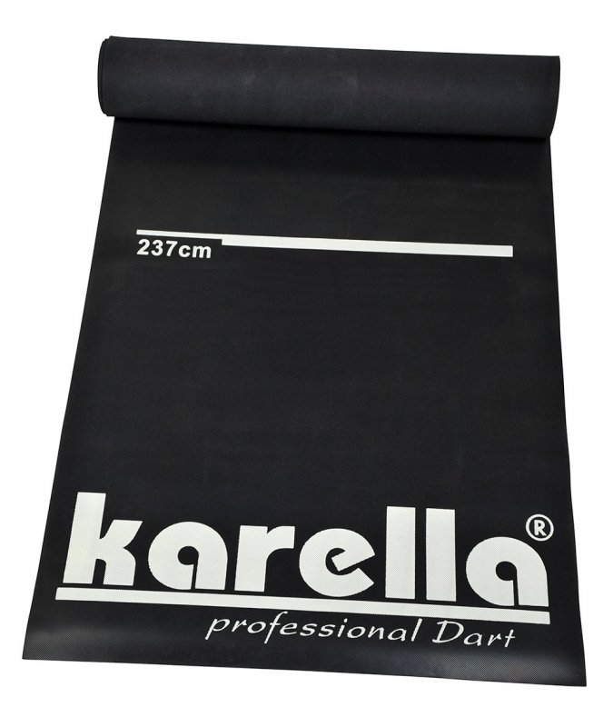 Podložka Karella na šípky čierna