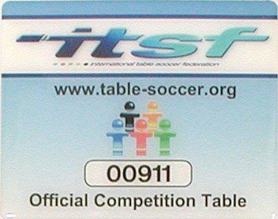 Garlando Futbal MASTER CHAMPION turnajový ITSF certifikát