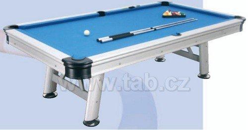 Biliardový stôl exteriérový FLORIDA 8 stôp ALU