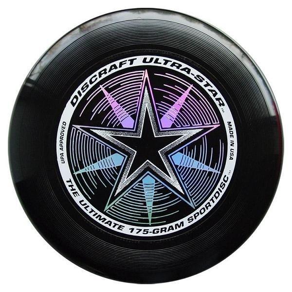 Frisbee Discraft Ultra Star čierna 175g