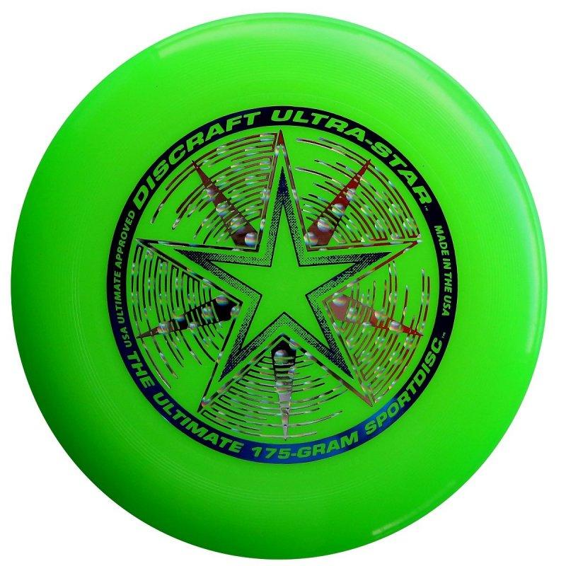 Frisbee Discraft Ultra Star Lime 175g