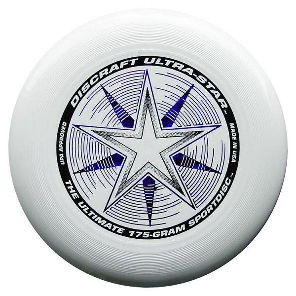 Frisbee Discraft Ultra Star Biela 175g