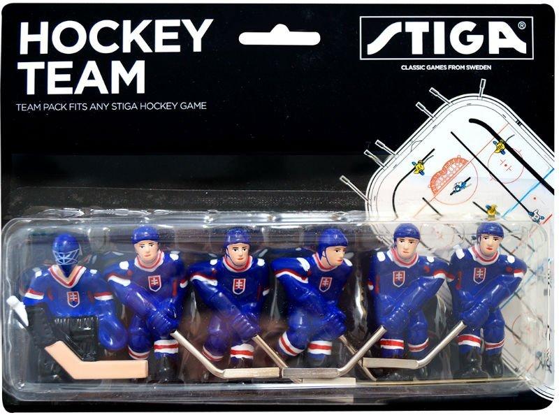 Hokej STIGA hráči národný tím Slovensko maľovaný
