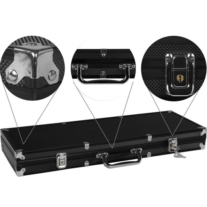 Pokrový set kufrík Ultimate 500 žetónov black