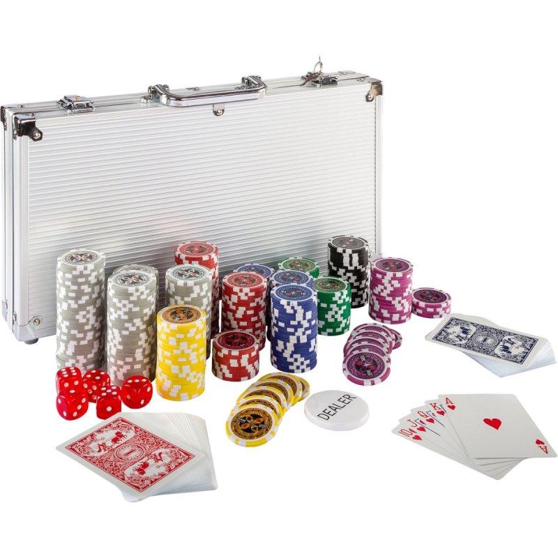 Poker set kufrík Ultimate 300 žetónov