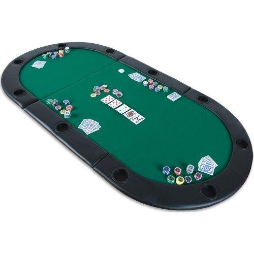 Poker skladacia podložka Monaco zelená