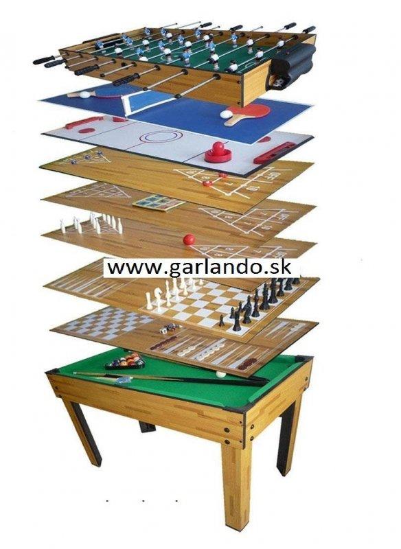 Multifunkčný stôl Sportino FUNGAME wood