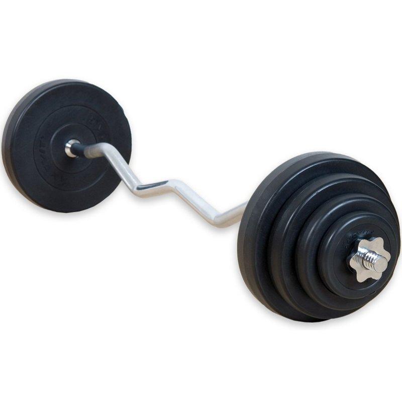 Movit obojručná činka 120cm 23,5kg