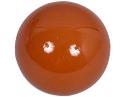 Samostatná guľa Aramith na snooker 52.4mm hnedá