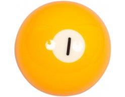 Biliardová guľa Aramith č.1 veľkosť 57.2mm