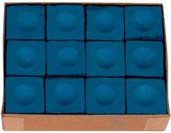 Biliardové kriedy Master modré 12ks