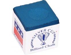 Biliardová krieda Silver Cup modrá 12ks