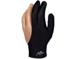 Rukavica na biliard Laperti Velcro L čierna