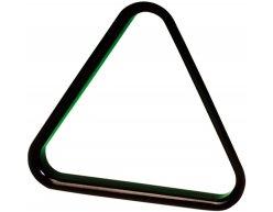 Plastový trojuholník na biliard a snooker čierny 52.4mm