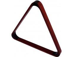 Trojuholník drevený mahagón 57,2 mm