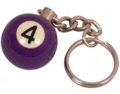 Prívesok biliardová guľa č. 4