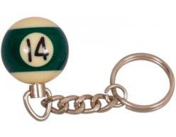 Prívesok biliardová guľa č. 14