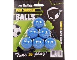 Lopty Buffalo Pro Soccer Modrá 6ks