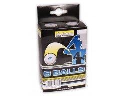 Loptičky na stolný tenis Buffalo Competition 6ks 3*