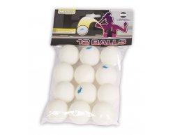 Loptičky na stolný tenis Buffalo Hobby 12ks