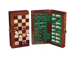 Šach Magnetic set 15x30 Pallisander