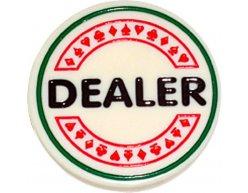 Žetón na poker Dealer Button 6cm