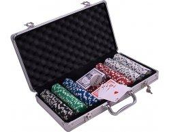 Pokrový kufrík DICE 300 žetónov 11.5g