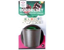 Buffalo Dobbel Set pohár, miska a kocky