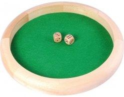 Podnos na kocky Dice Tray 29cm + 2 kocky