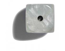 Philos perleťová hracia kocka 12mm biela 1ks
