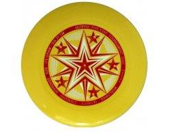 Frisbee disk UltiPro Five Star žltá 175g