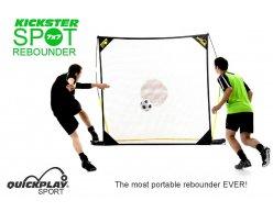 Odrazová futbalová sieť Kickster Spot - na tréning streľby, 213x213cm