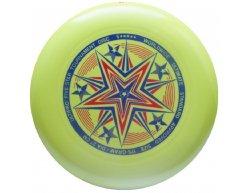 Frisbee UltiPro Five Star Žlto Zelená 175g
