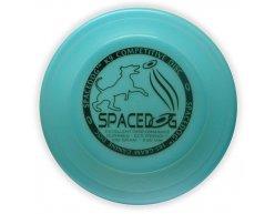 SPACE DOG 235 BLUE frisbee disk pre psov