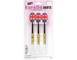 Set 3ks šípky KARELLA blister soft 16g