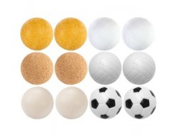 Sada loptičiek na stolný futbal Exclusive 12ks