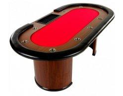Pokrový stôl ROYAL XXL červený